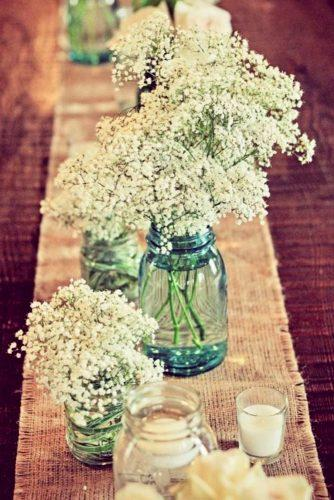 rustic wedding table decor 1