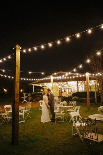 rustic wedding photo with lamp wearetheharmons