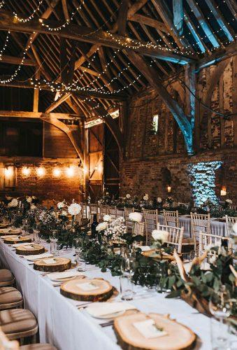 rustic wedding reception decor Kelsie Low Photography