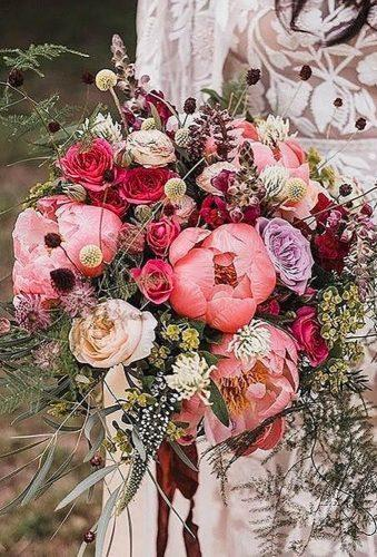 rustic wedding red rustic bouquet willowandthyme