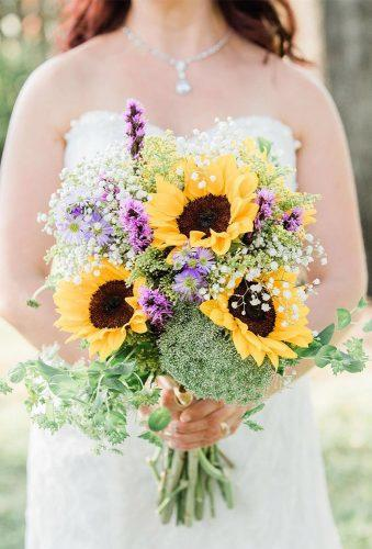 sunflower wedding bouquets beautiful sunflower florabloomphotography
