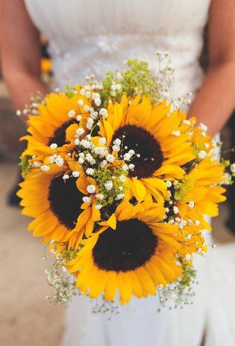 sunflower wedding bouquets big sunflower in wedding bouquet Jemma King