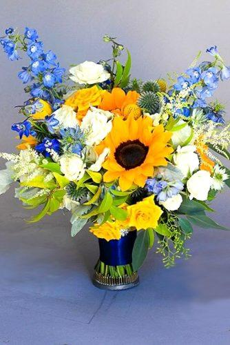 sunflower bridal bouquets dream flowers studio