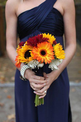 sunflower bridal bouquets 1