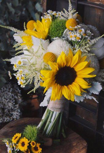 sunflower wedding bouquets tender classic bouquet sheliachan_floradesigns