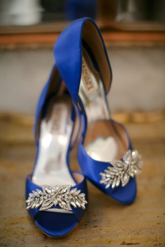 wedding flats blue with rhinestones britt rene photo