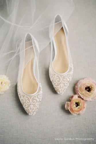 wedding flats lace nude laura gordon photo