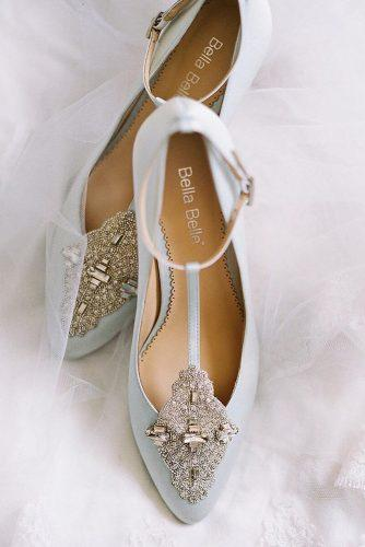 wedding flats vintage sparkle bella belle