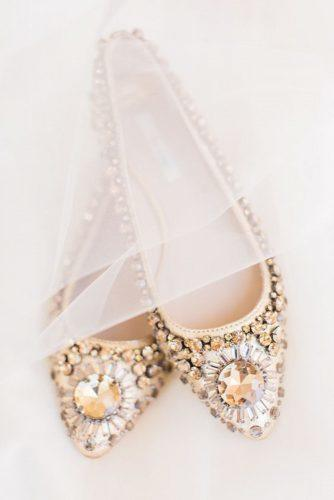 wedding flats vintage sparkle stones dyanna joy photography