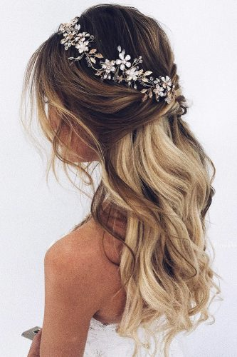 bridal hairstyles soft look ulyana aster