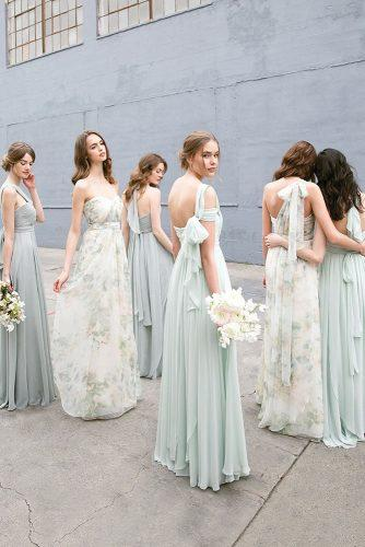 convertible bridesmaid dresses long pastel jenny yoo