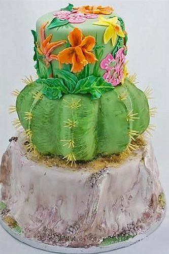 prickly wedding cakes 1