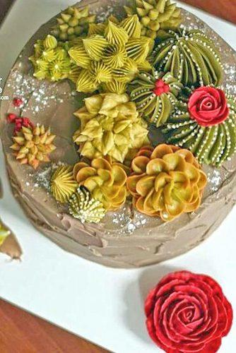 prickly wedding cakes 6