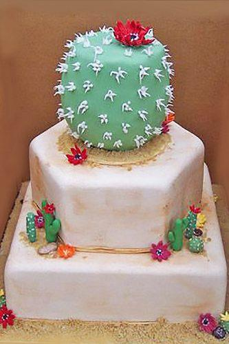 prickly wedding cakes 2
