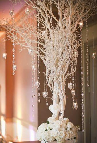 rustic winter wedding white cristmas tree cly creation photography