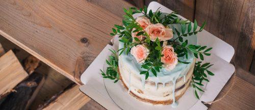 small rustic wedding cakes featured