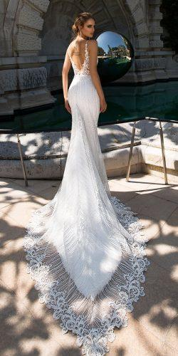 tina valerdi wedding dresses fit and flare low back with straps lace with train marta