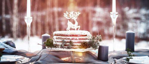 winter wedding cakes featured