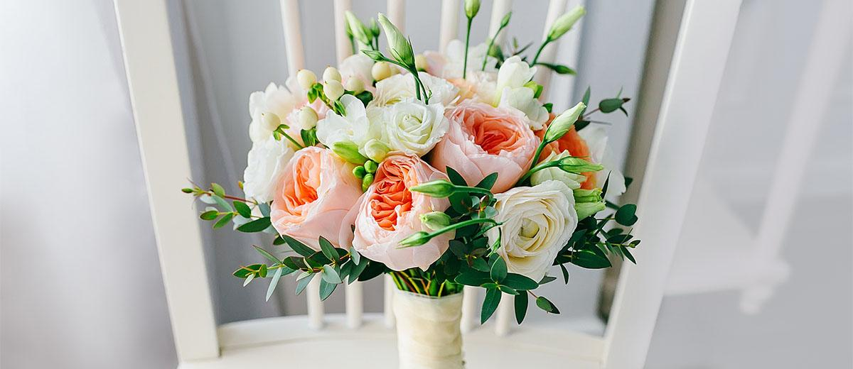 blush wedding bouquets featured
