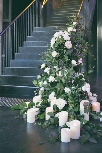 greenery wedding decor 1