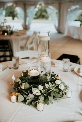 greenery wedding decorations table ideas 6
