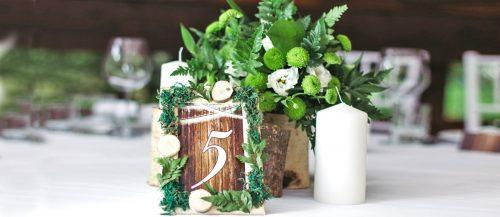 greenery wedding decor main