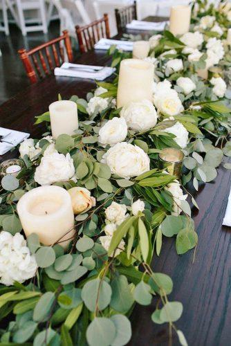 greenery wedding centerpieces ideas 2