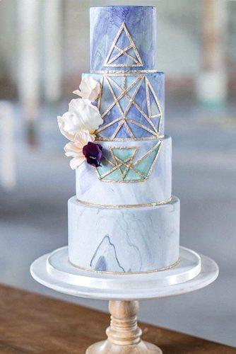 wedding cakes with marble accents 5