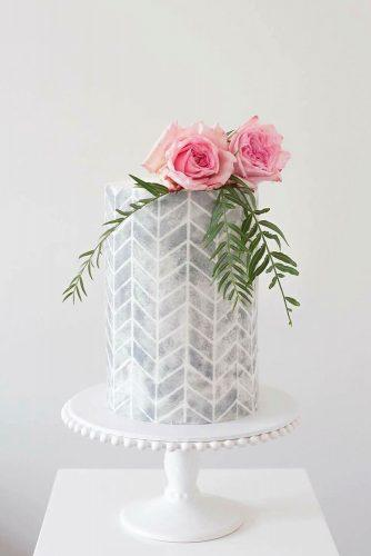 wedding cakes with marble accents 9