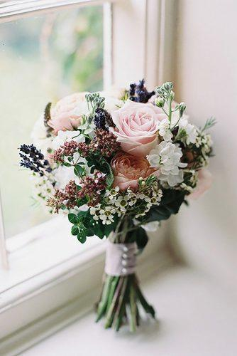 popular wedding flowers with blush roses and small whiteflowers victoria phipps photography