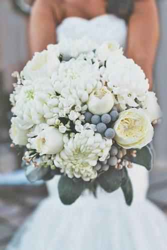 gray wedding bouquets 9