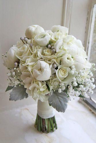 gray wedding bouquets 18