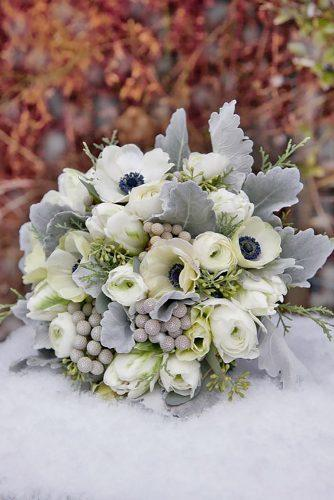 gray wedding bouquets 16