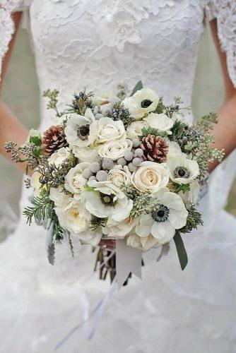 gray wedding bouquets 8