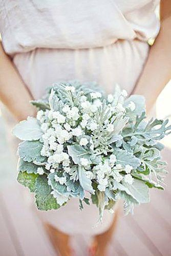 gray wedding bouquets 13