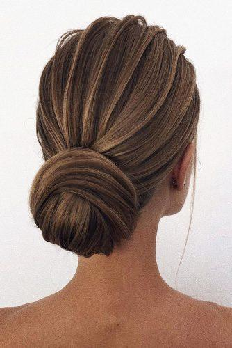30 Awesome Wedding Bun Hairstyles Wedding Forward