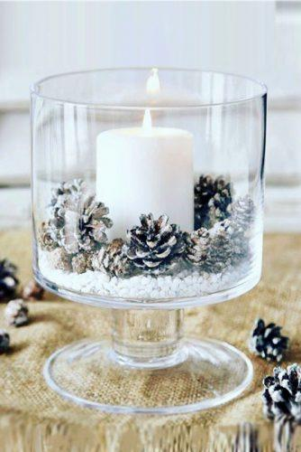 winter wedding table decorations 3