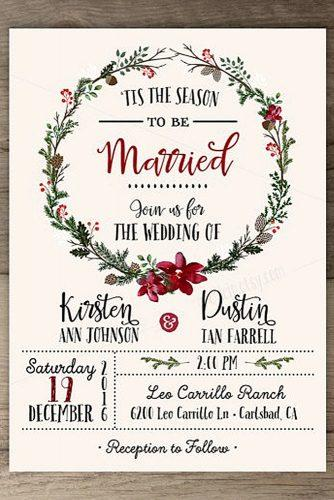 winter wedding stationery 2