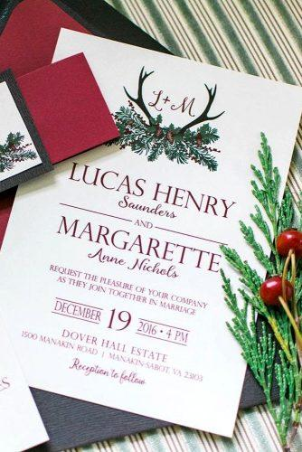 wedding invitations winter details 1