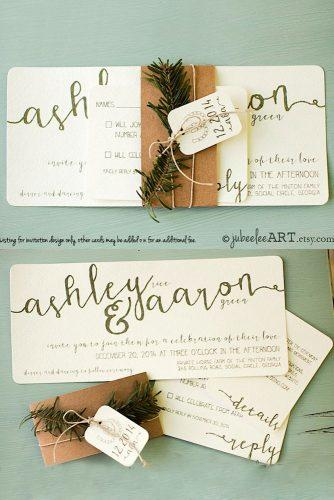 winter wedding invitations 3