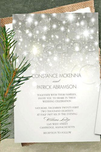 wintry wedding stationery 3