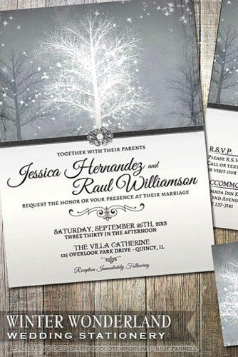 wintry wedding stationery 4