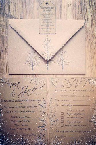 wedding invitations winter details 5