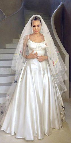 angelina jolie wedding dress 2