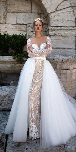 long sleeve bridal gowns by ida torez 6