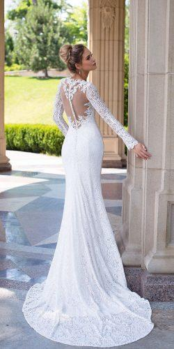 long sleeve bridal gowns by ida torez 3