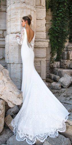 long sleeve bridal gowns by ida torez 2