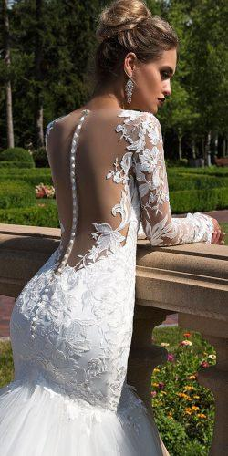long sleeve bridal gowns by ida torez 1