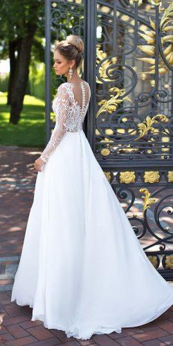 lace long sleeve wedding gowns by ida torez 4