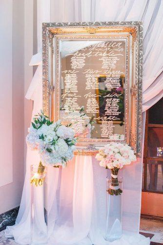 mirror wedding decor ideas 6